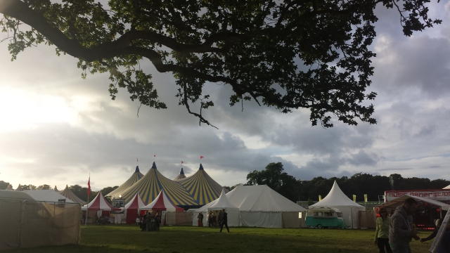 Electric Picnic 2014, Saturday morning