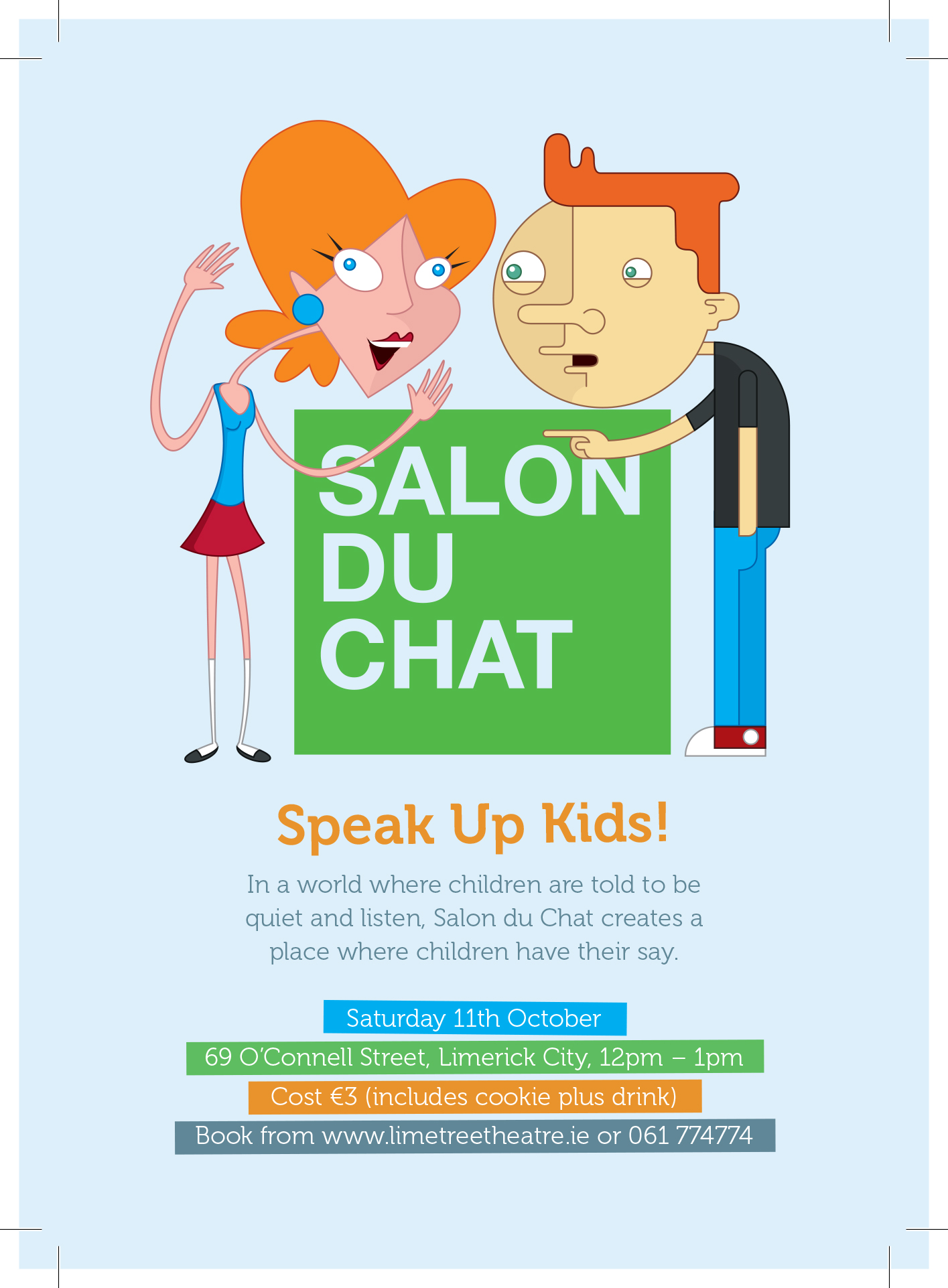 Poster for Salon du Chat for Kids