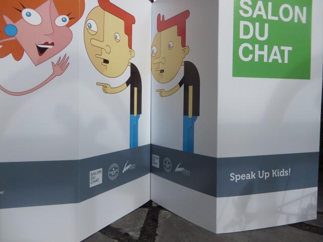 Salon du Chat for kids menus
