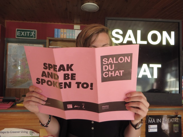 Salon du Chat menu at Hearsay Festival
